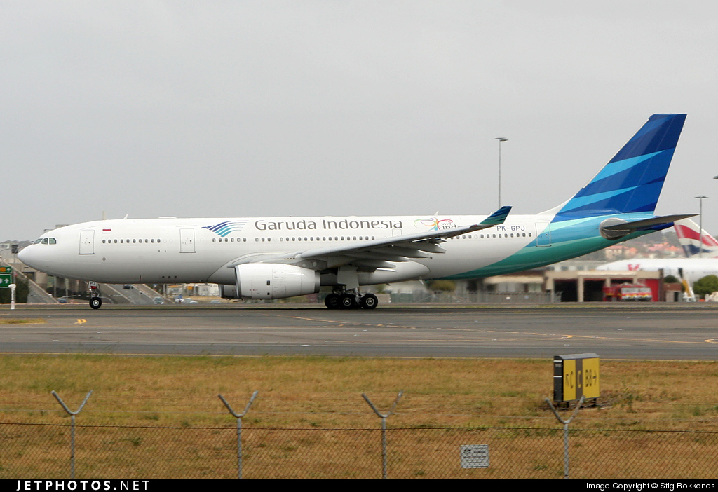 Photo of PK-GPJ Airbus A330-243 by Stig Rokkones