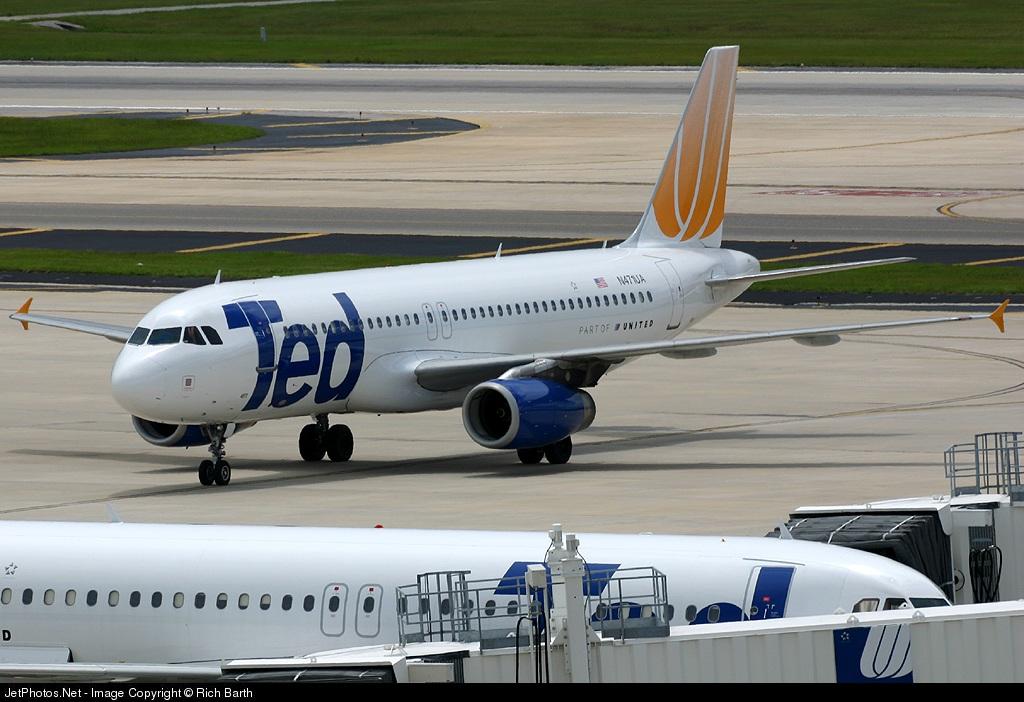 Photo of N471UA Airbus A320-232 by Rich Barth