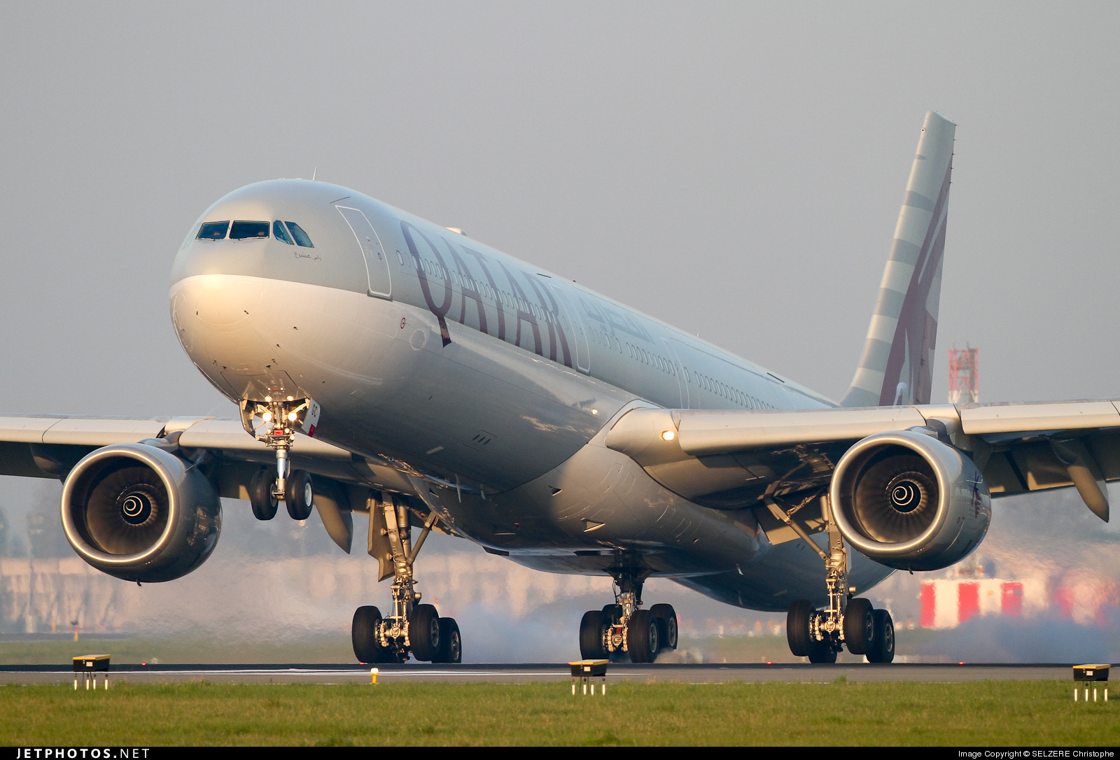 Photo of A7-AGC Airbus A340-642X by SELZERE Christophe