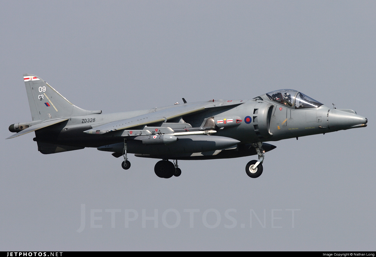 Photo of ZD328 British Aerospace Harrier GR.9 by Nathan Long