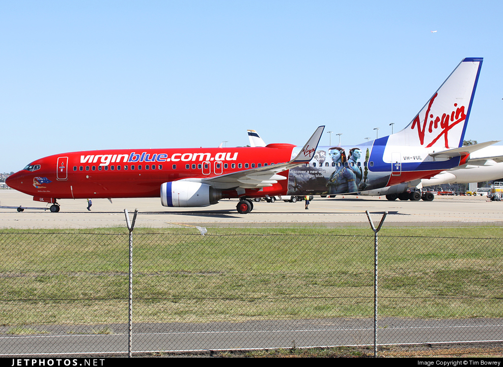 Photo of VH-VUL Boeing 737-8FE by Tim Bowrey