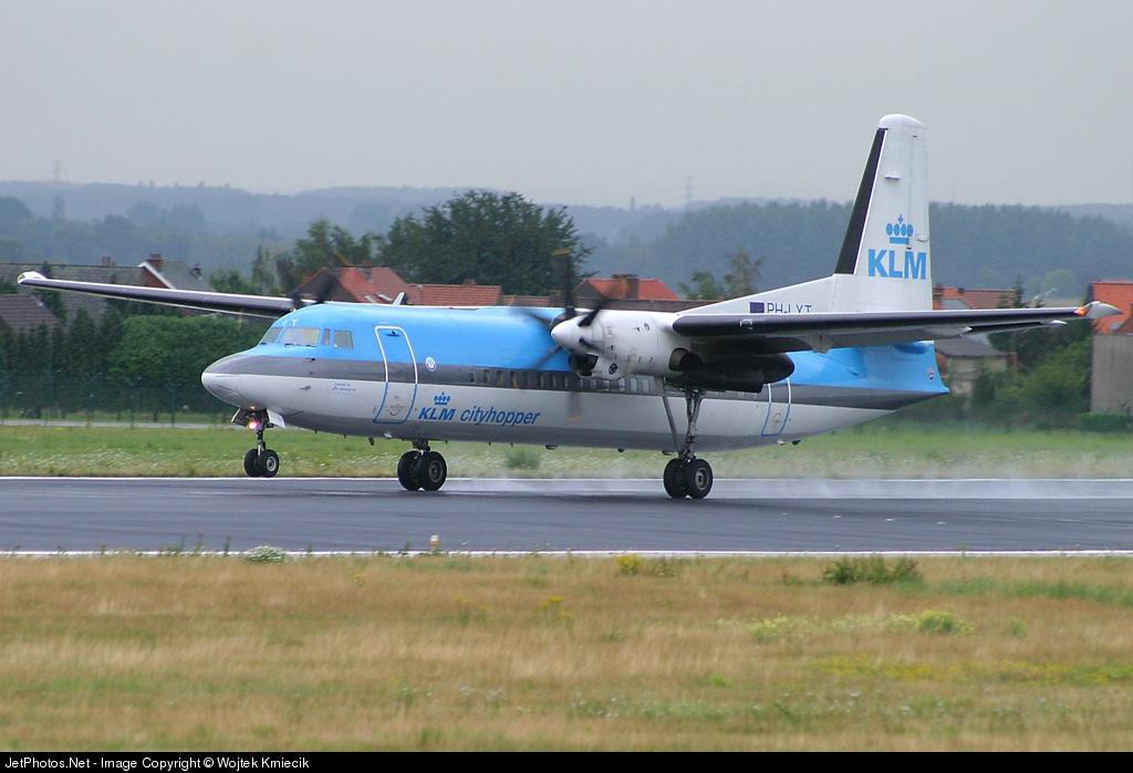 Photo of PH-LXT Fokker 50 by Wojtek Kmiecik