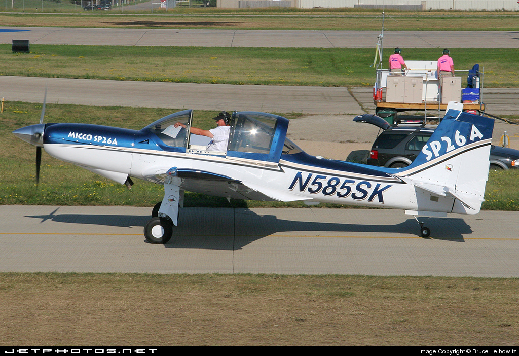 Photo of N585SK LanShe Aerospace MAC-145B by Bruce Leibowitz