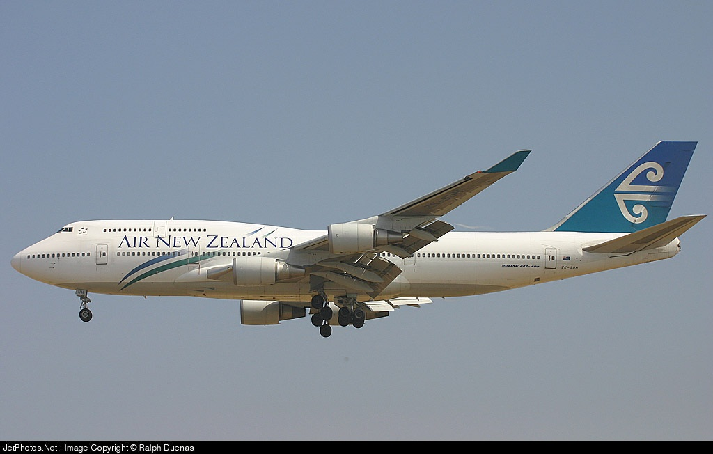 Photo of ZK-SUH Boeing 747-475 by Ralph Duenas - Jetwash Images