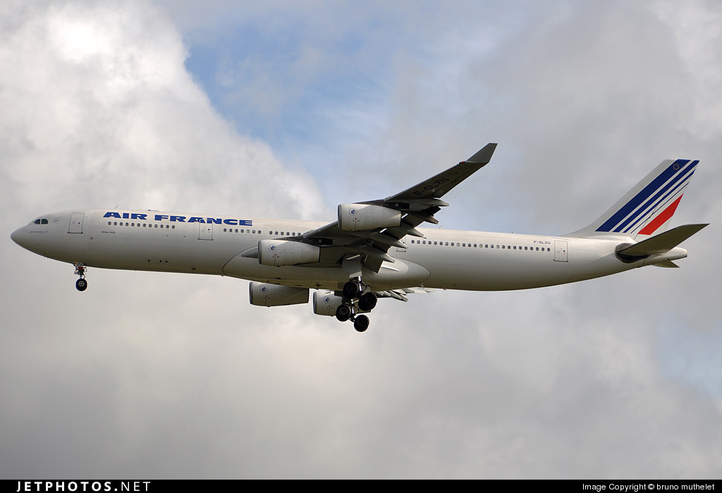 Photo of F-GLZU Airbus A340-313X by bruno muthelet