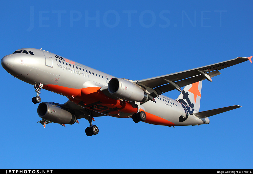 Photo of VH-VQL Airbus A320-232 by Brock L