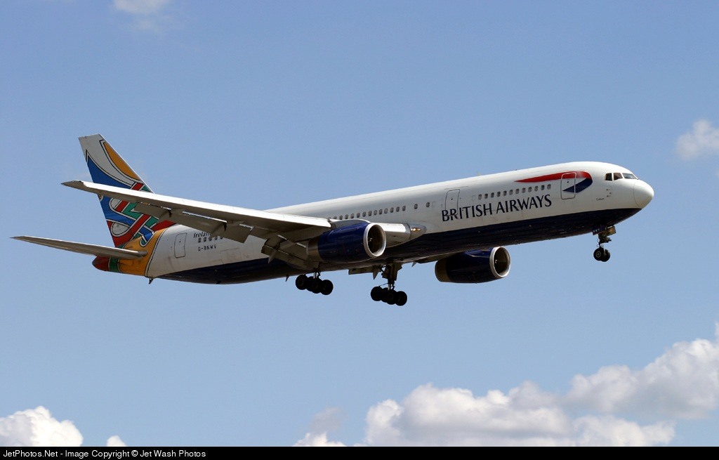 Photo of G-BNWV Boeing 767-336(ER) by Paul Goldsack - Jet Wash Photos