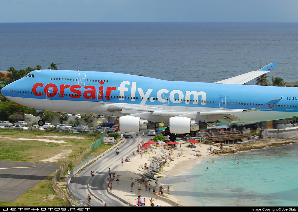 Photo of F-HSUN Boeing 747-422 by Joe Statz