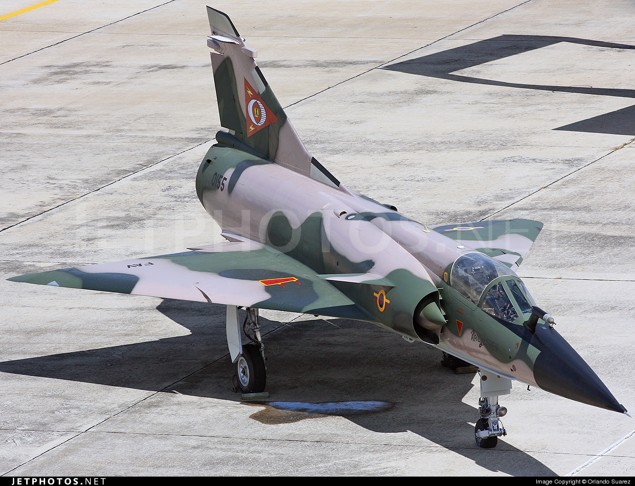 Photo of 0155 Dassault Mirage 50EV by Orlando Suarez