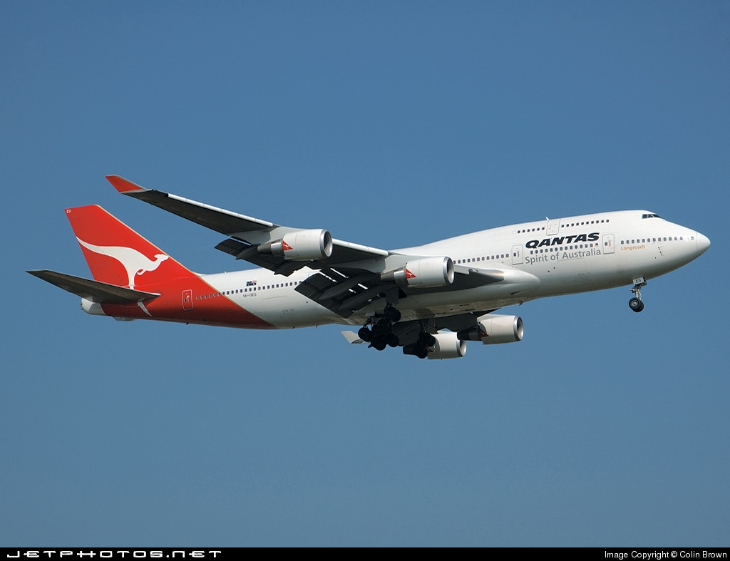 Photo of VH-OEG Boeing 747-438ER by Colin Brown