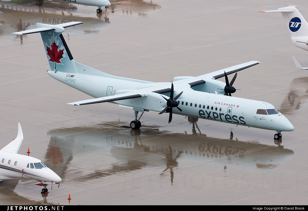 Photo of C-FSRZ Bombardier Dash 8-Q402 by David Brook