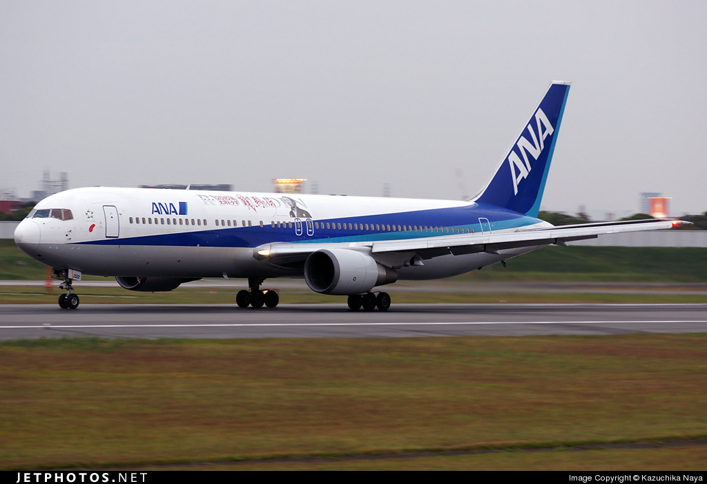 Photo of JA8322 Boeing 767-381 by Kazuchika Naya