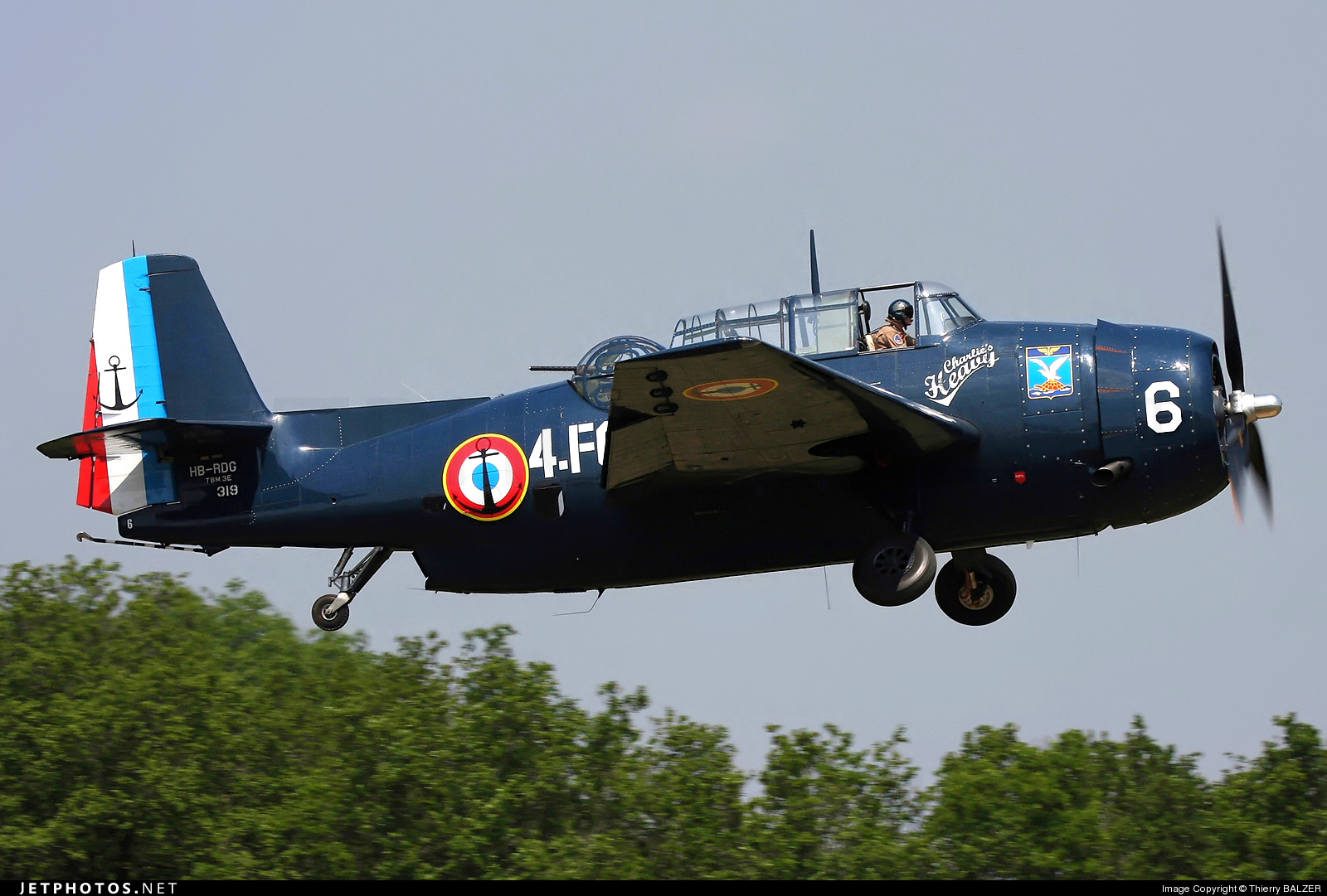 Photo of HB-RDG General Motors TBM-3R Avenger by Thierry BALZER