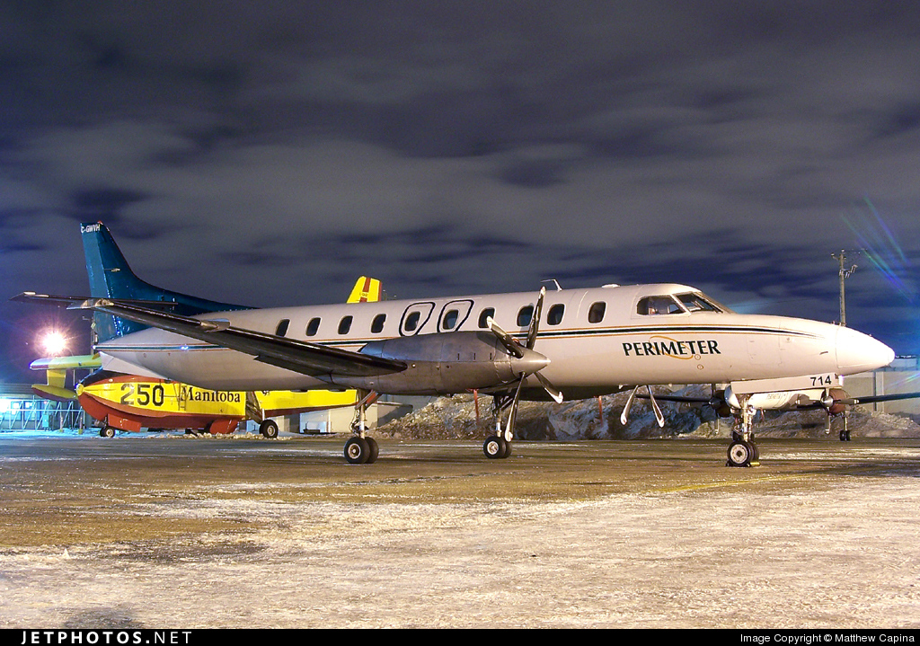Photo of C-GWVH Fairchild SA227-AC Metro III by Matthew Capina