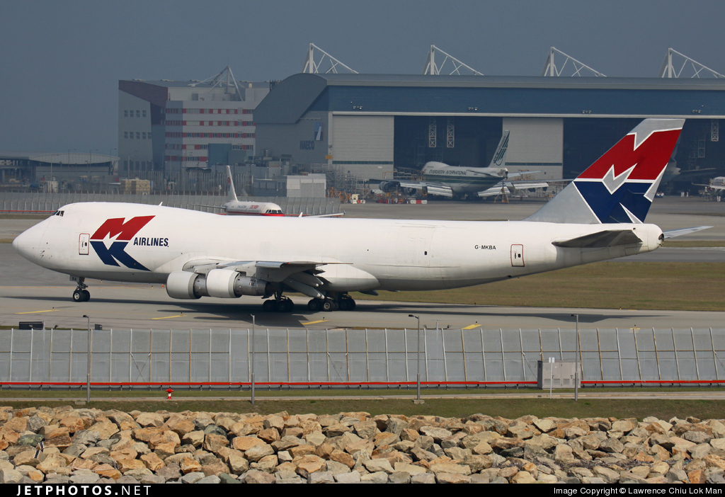 Photo of G-MKBA Boeing 747-2B5F(SCD) by Lawrence Chiu Lok Man