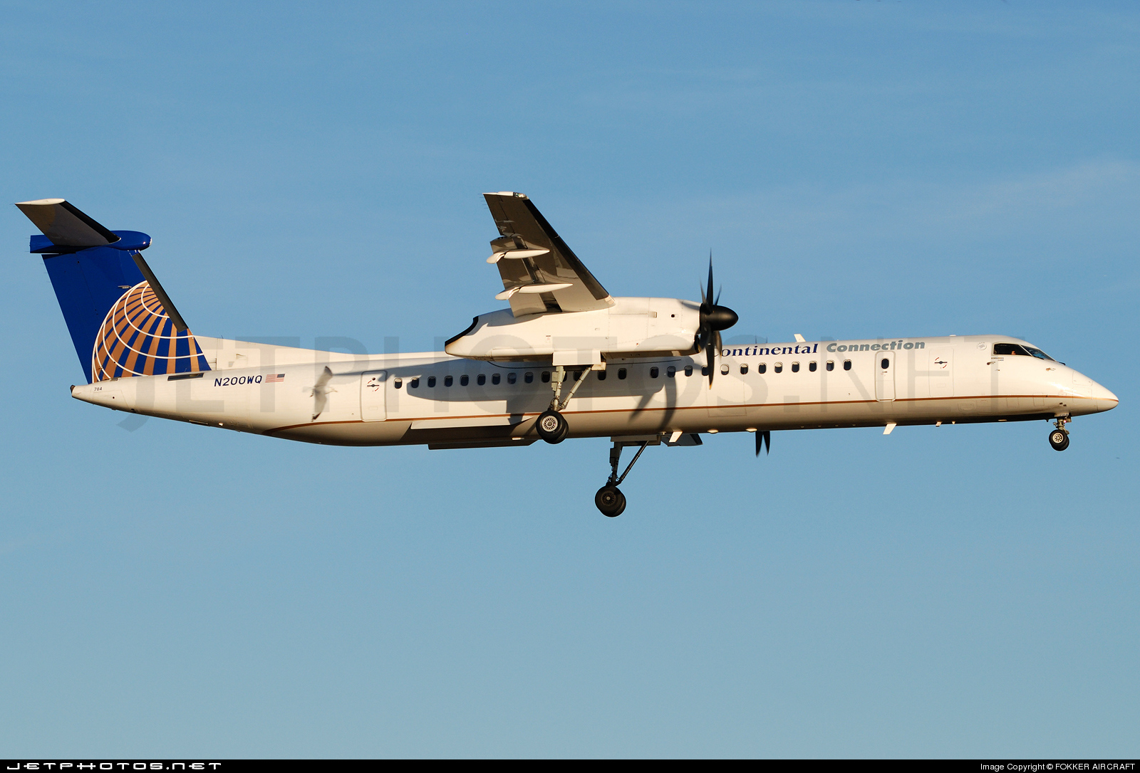 Photo of N200WQ Bombardier Dash 8-Q402 by FOKKER AIRCRAFT