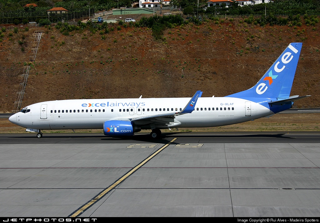 Photo of G-XLAF Boeing 737-86N by Rui Alves - Madeira Spotters