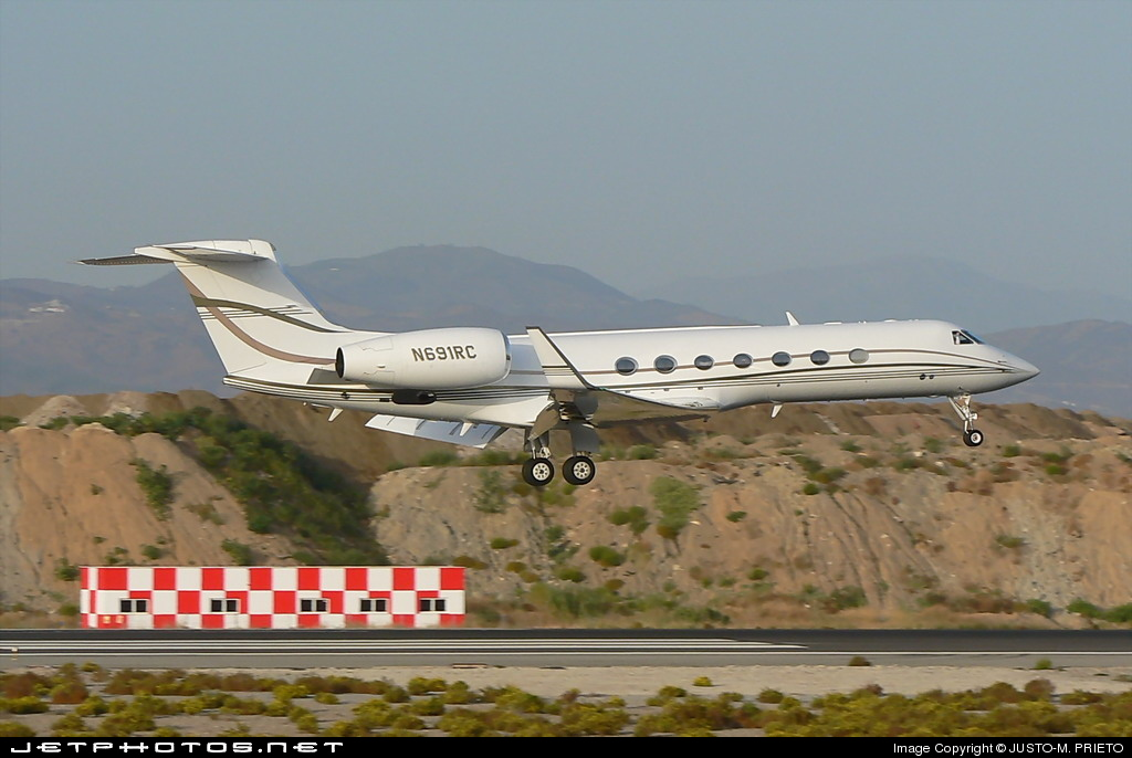 Photo of N691RC Gulfstream G-V by Justo-M. Prieto