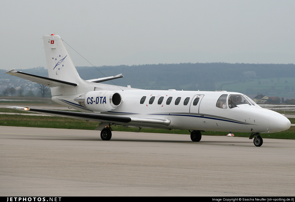 Photo of CS-DTA Cessna 560 Citation Ultra by Sascha Neuffer [str-spotting.de.tl]