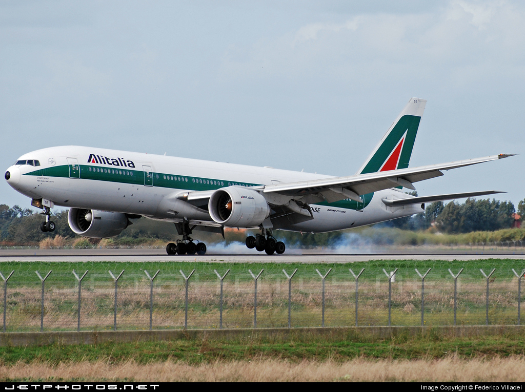 Photo of I-DISE Boeing 777-243(ER) by Federico Villadei