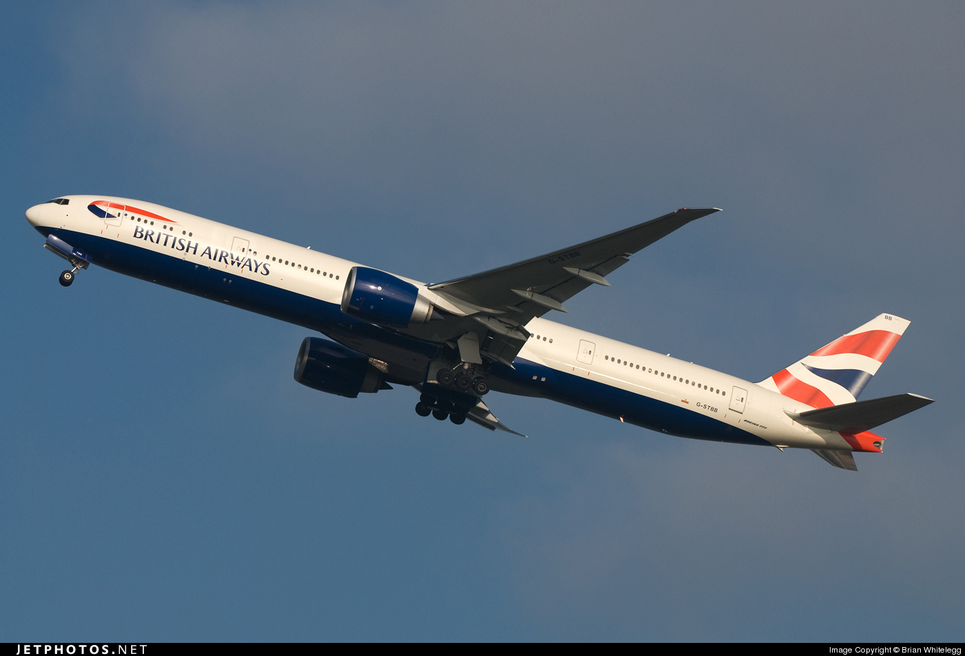Photo of G-STBB Boeing 777-36NER by Brian Whitelegg