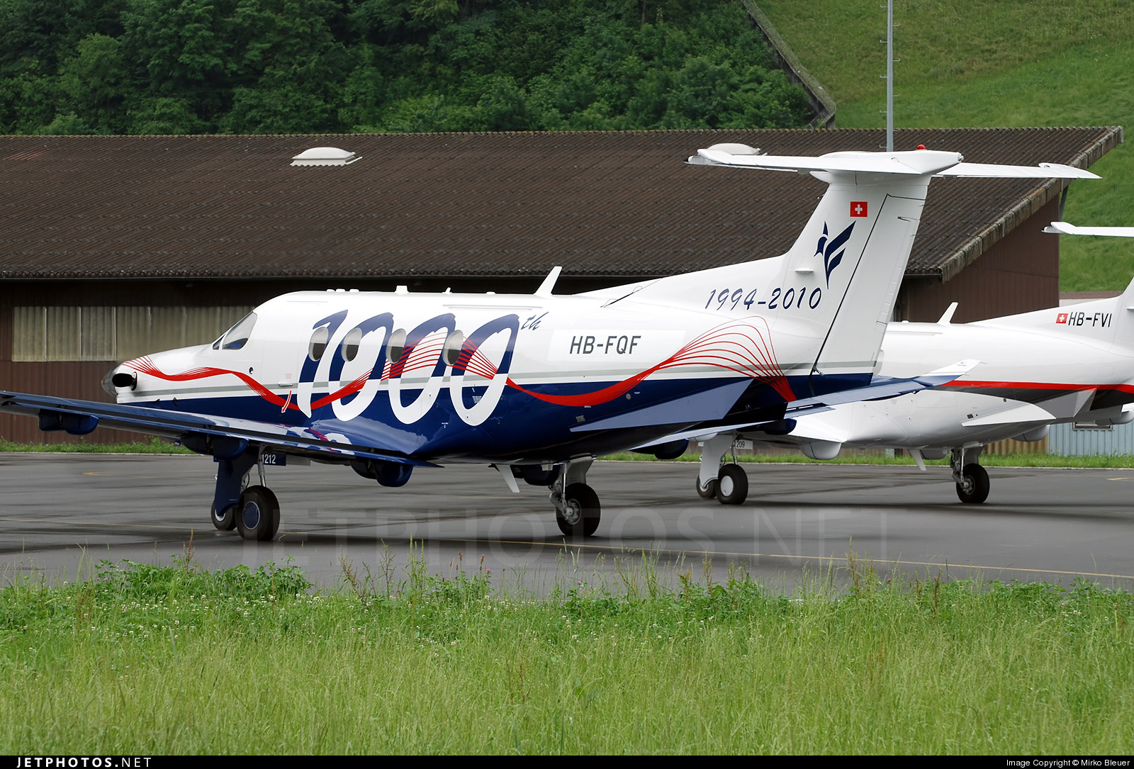 Photo of HB-FQF Pilatus PC-12/47E by Mirko Bleuer