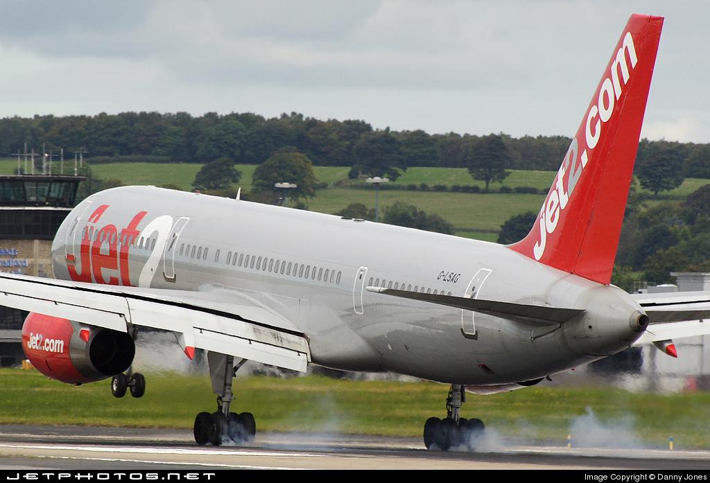 Photo of G-LSAG Boeing 757-21B by Danny Jones