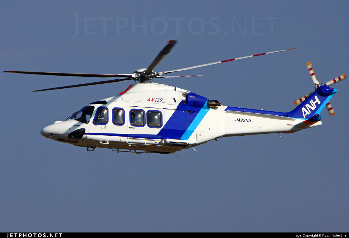 Photo of JA92NH Agusta-Westland AW-139 by Ryan Notestine