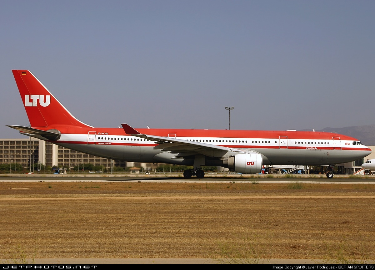 Photo of D-ALPD Airbus A330-223 by Javier Rodriguez - IBERIAN SPOTTERS