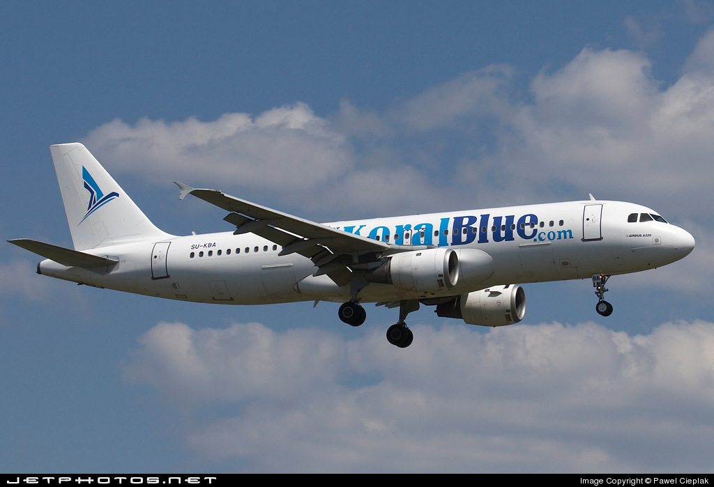 Photo of SU-KBA Airbus A320-214 by Pawel Cieplak
