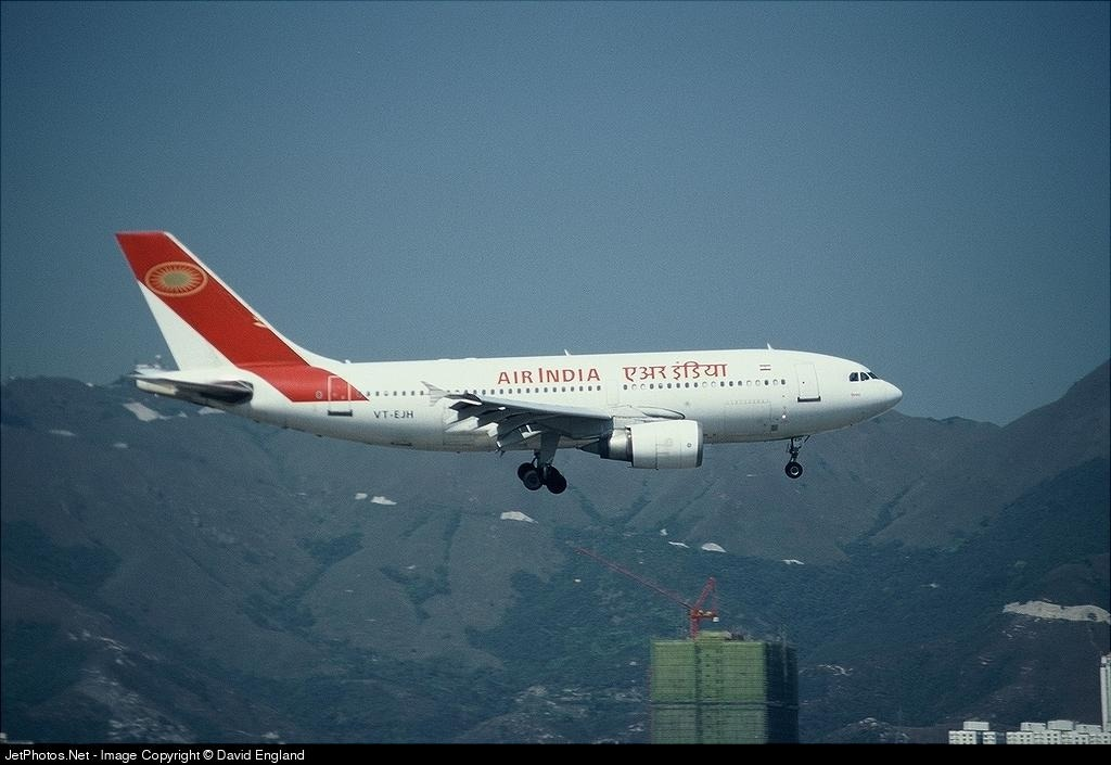 Photo of VT-EJH Airbus A310-304 by David England - The Hong Kong Spotters