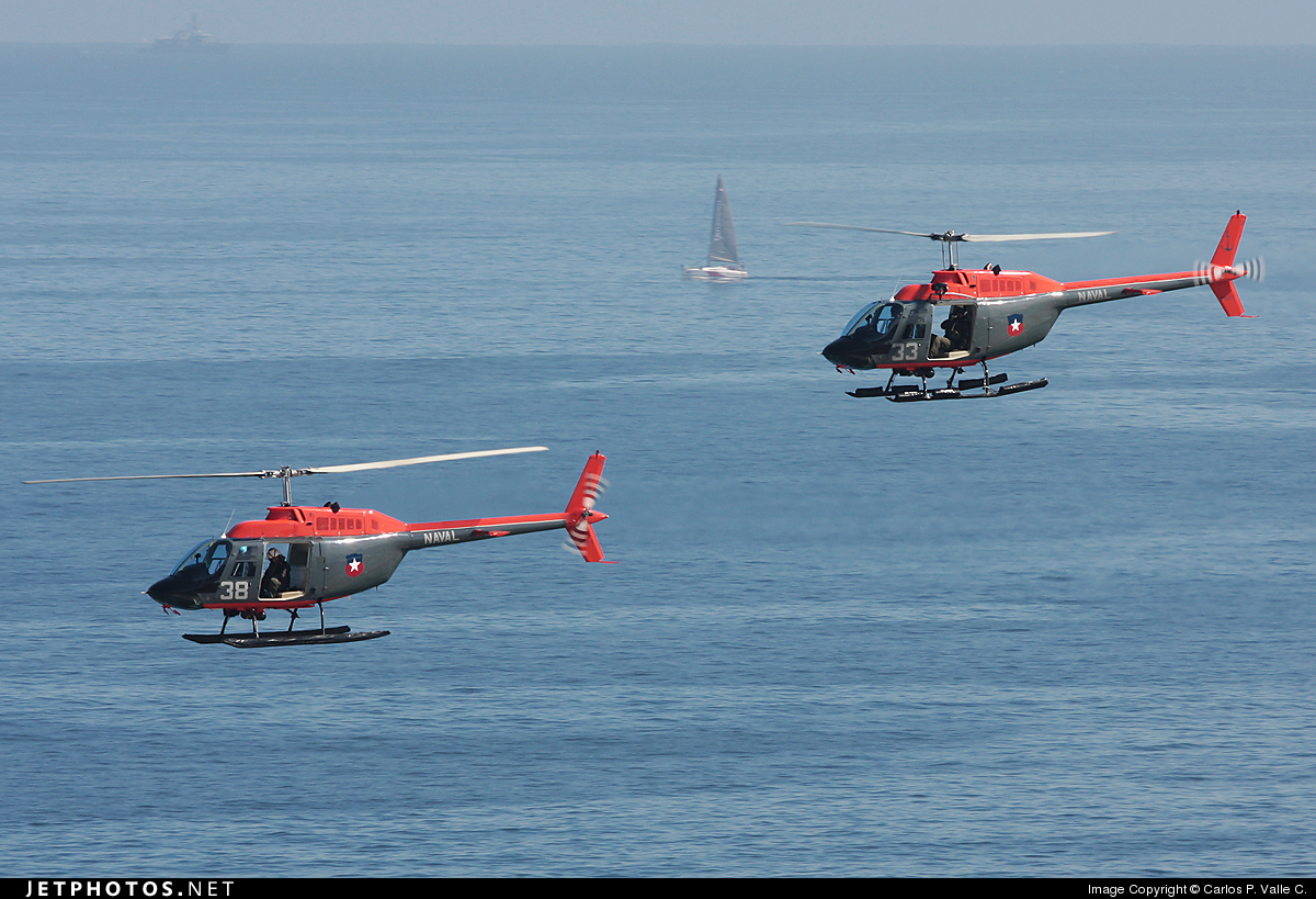 Photo of 38 Bell 206B JetRanger by Carlos P. Valle C.