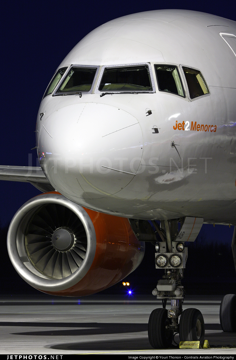 Photo of G-LSAB Boeing 757-27B by Youri Thonon - Contrails Aviation Photography
