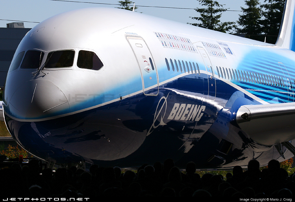 Photo of N787BA Boeing 787-8 Dreamliner by Mario J. Craig