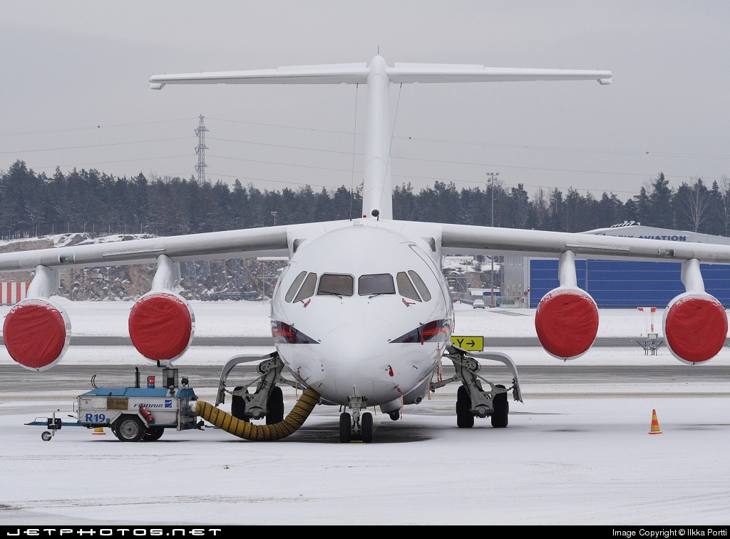 Photo of ZE701 British Aerospace Bae 146 CC.2 by Ilkka Portti