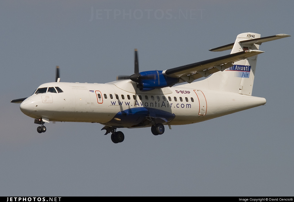Photo of D-BCRP ATR 42-300 by David Cenciotti