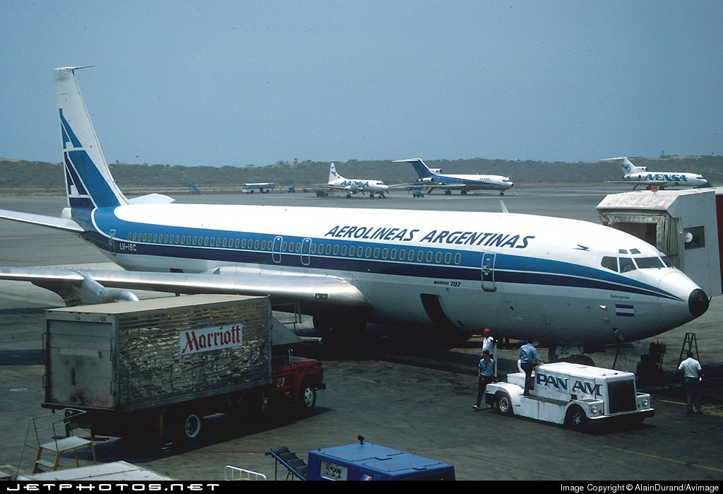 Photo of LV-ISC Boeing 707-387B by AlainDurand/Avimage
