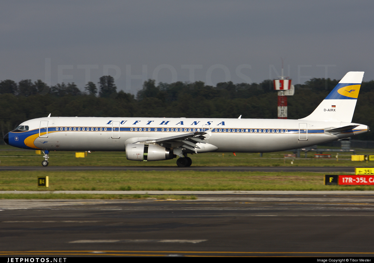 Photo of D-AIRX Airbus A321-131 by Tibor Mester