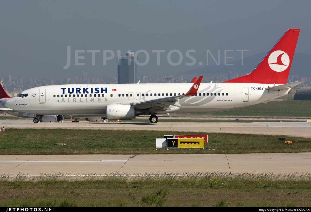 Photo of TC-JGY Boeing 737-8F2 by Mustafa SANCAR
