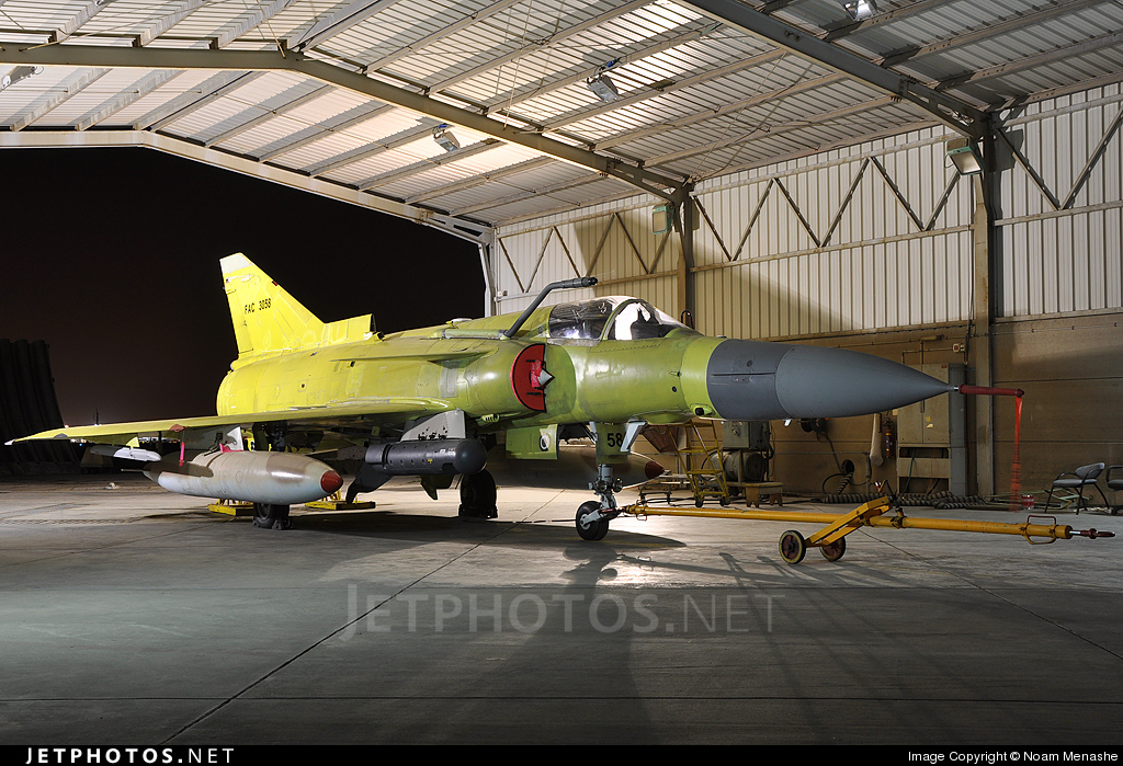 Photo of FAC3058 IAI Kfir C10 by Noam Menashe