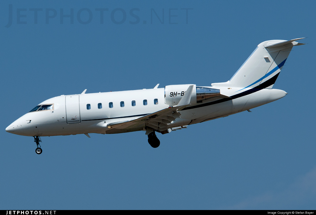 Photo of 9H-BOM Bombardier CL-600-2B16 Challenger 605 by Stefan Bayer