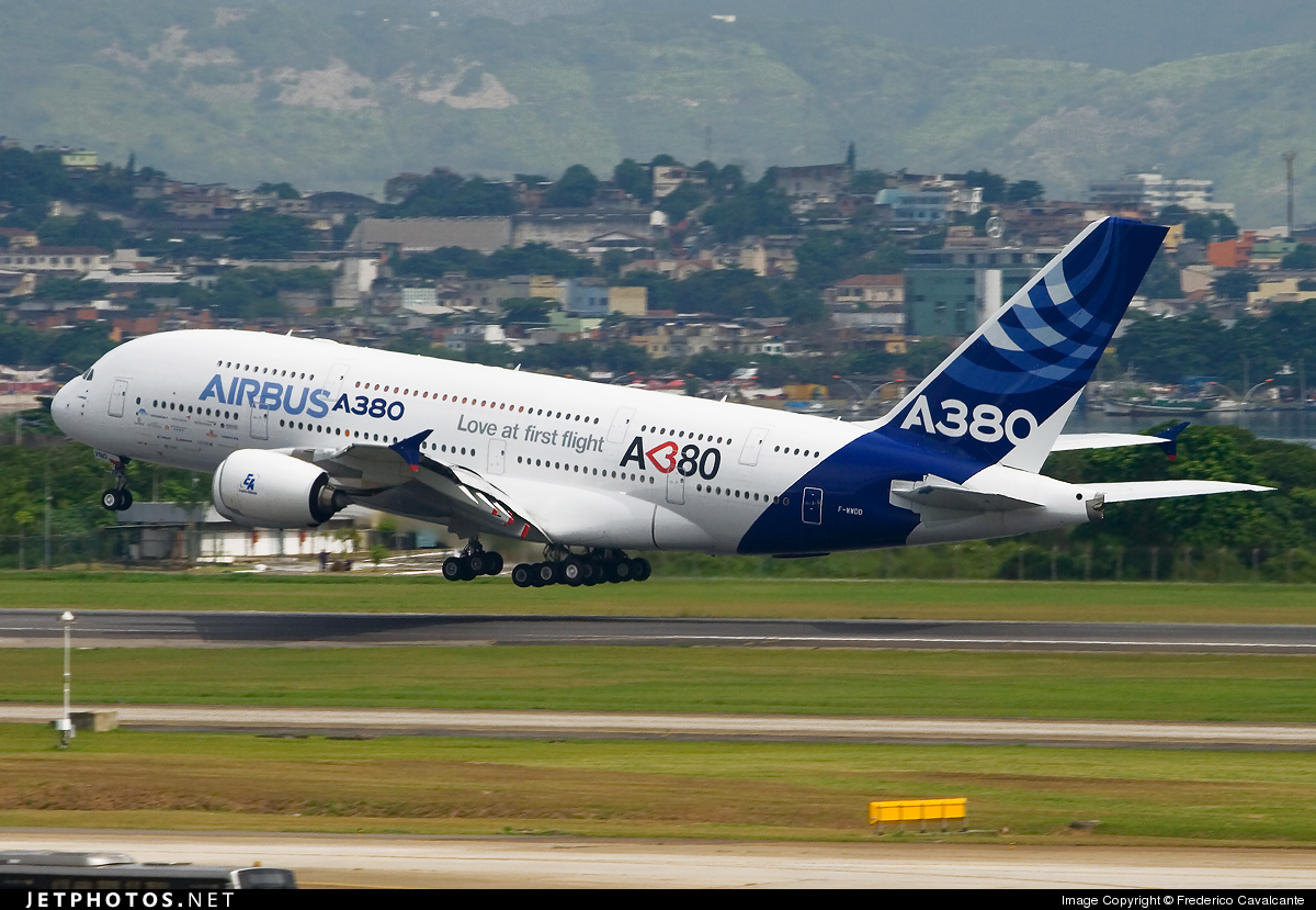 Photo of F-WWDD Airbus A380-861 by Frederico Cavalcante