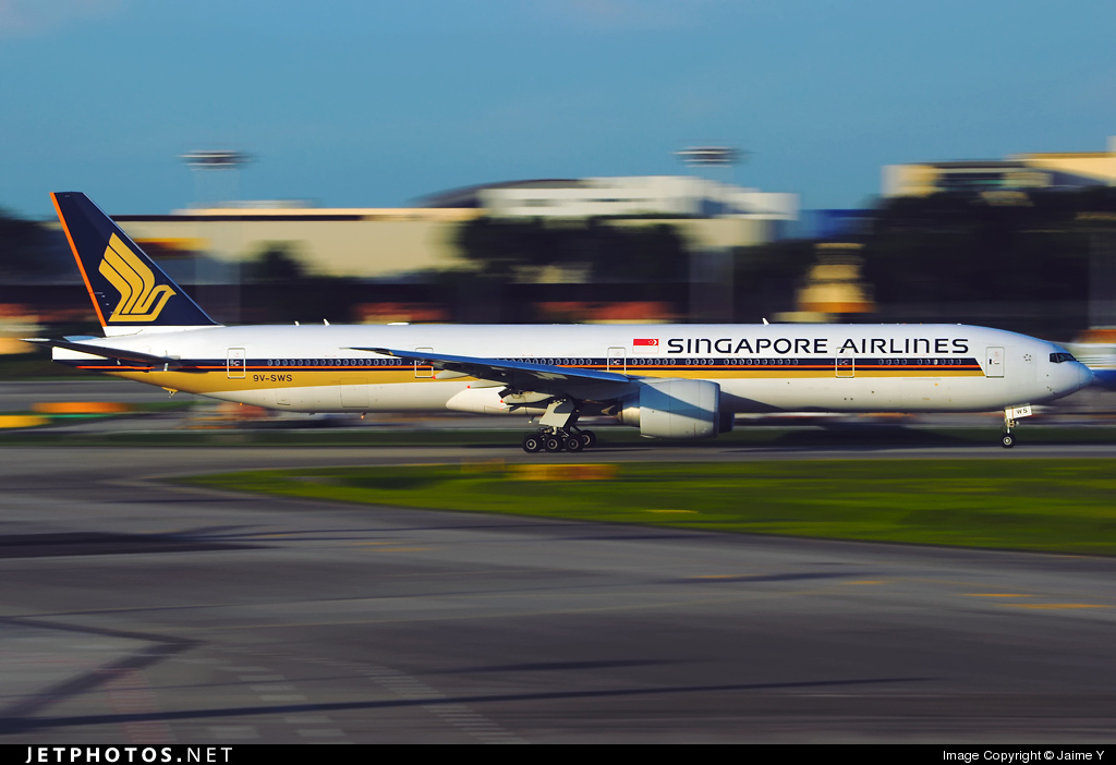 Photo of 9V-SWS Boeing 777-312ER by Jaime Y