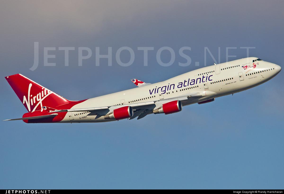 Photo of G-VHOT Boeing 747-4Q8 by Randy Harricharan