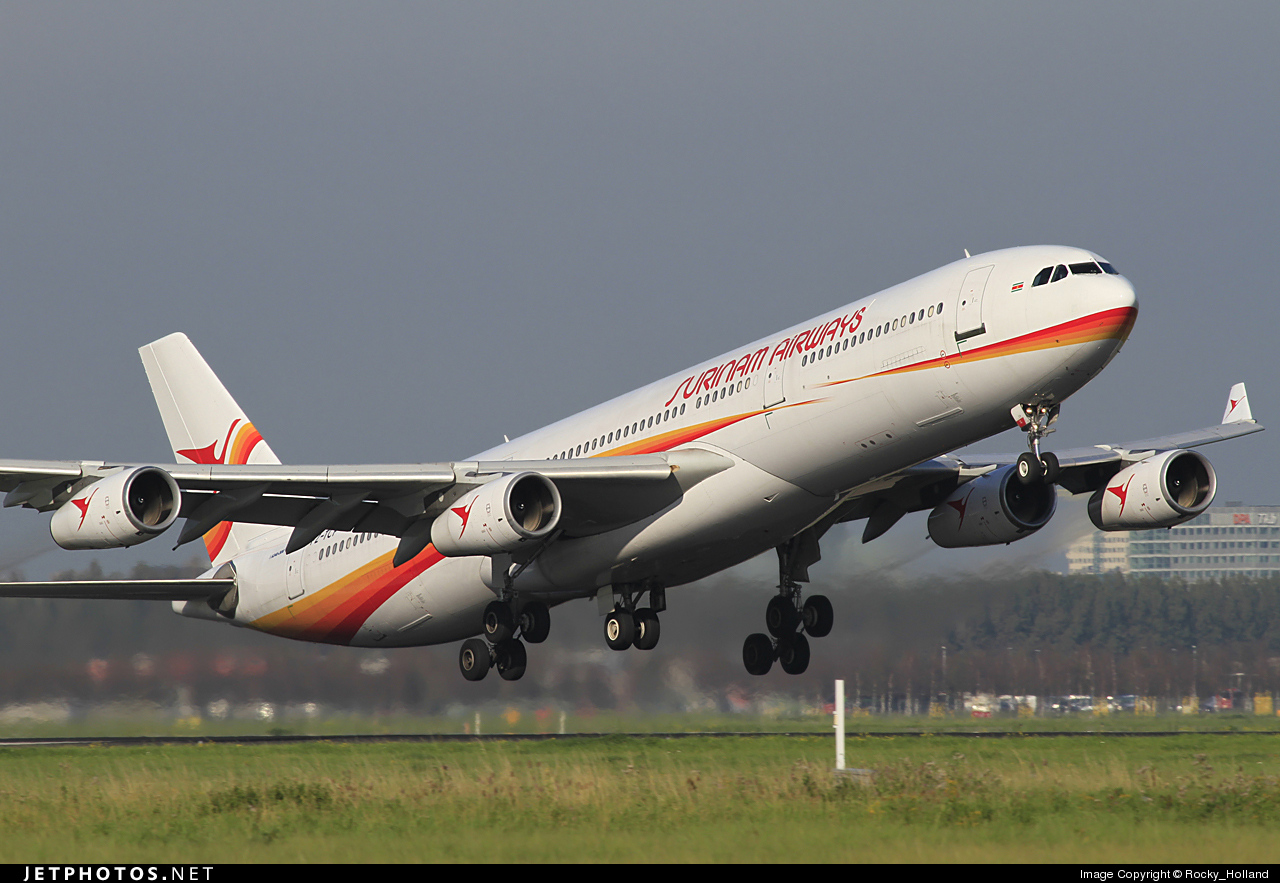 Photo of PZ-TCP Airbus A340-311 by Rocky_Holland