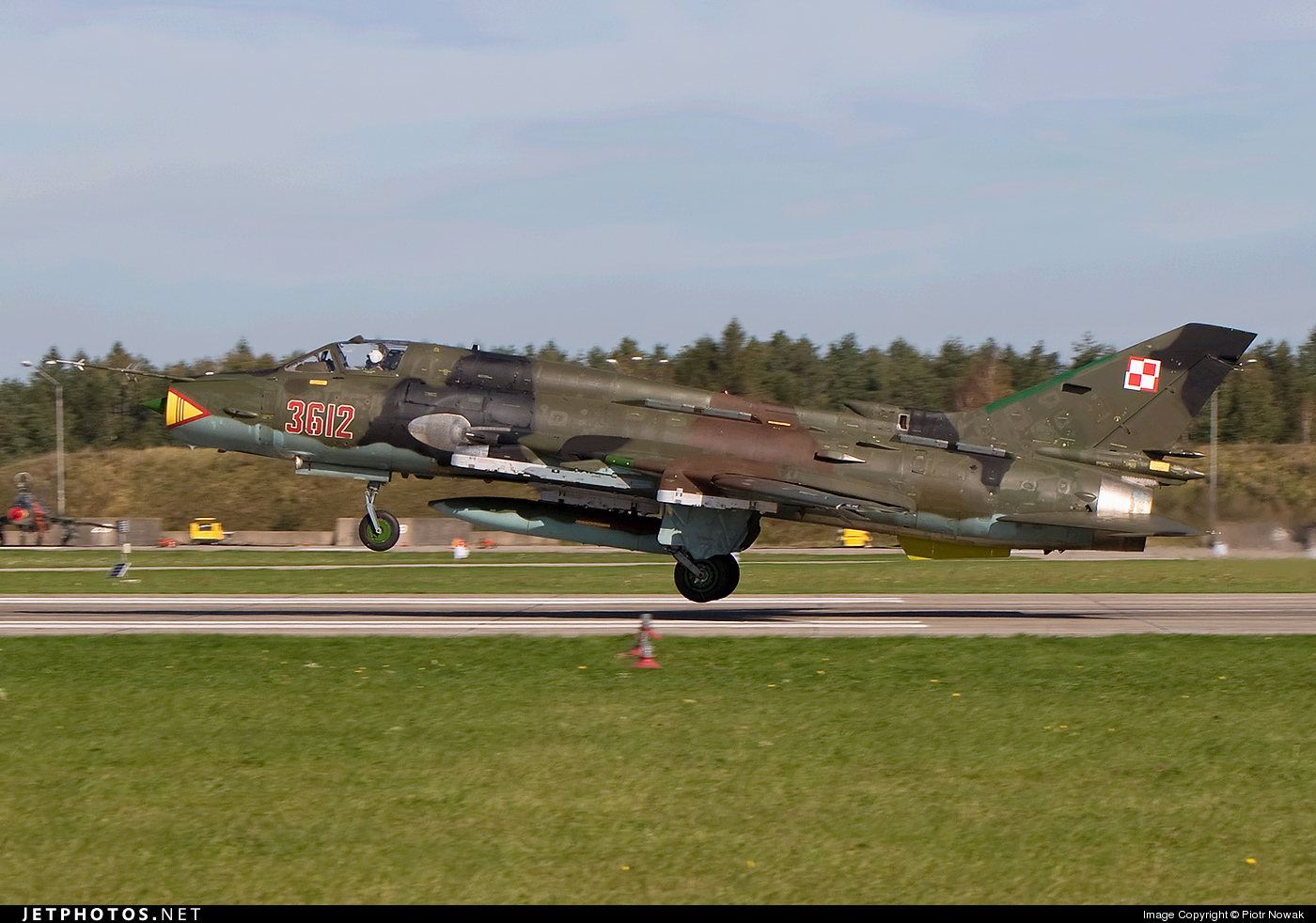 Photo of 3612 Sukhoi Su-22M4 Fitter K by Piotr Nowak