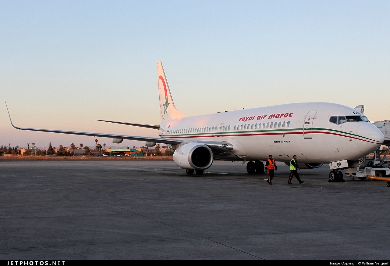 Photo of CN-ROR Boeing 737-8B6 by William Verguet