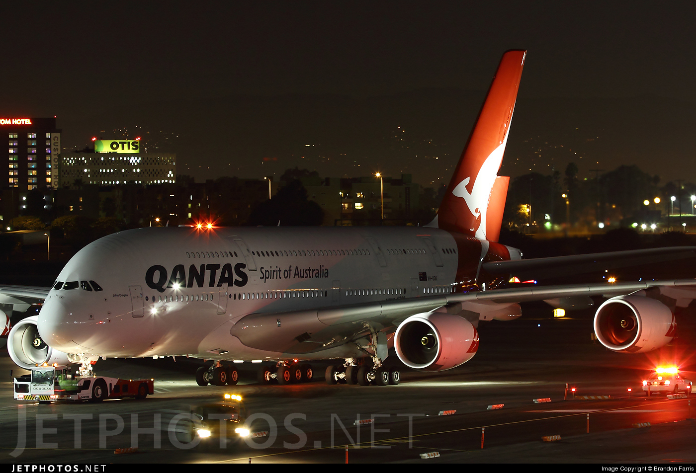 Photo of VH-OQK Airbus A380-842 by Brandon Farris