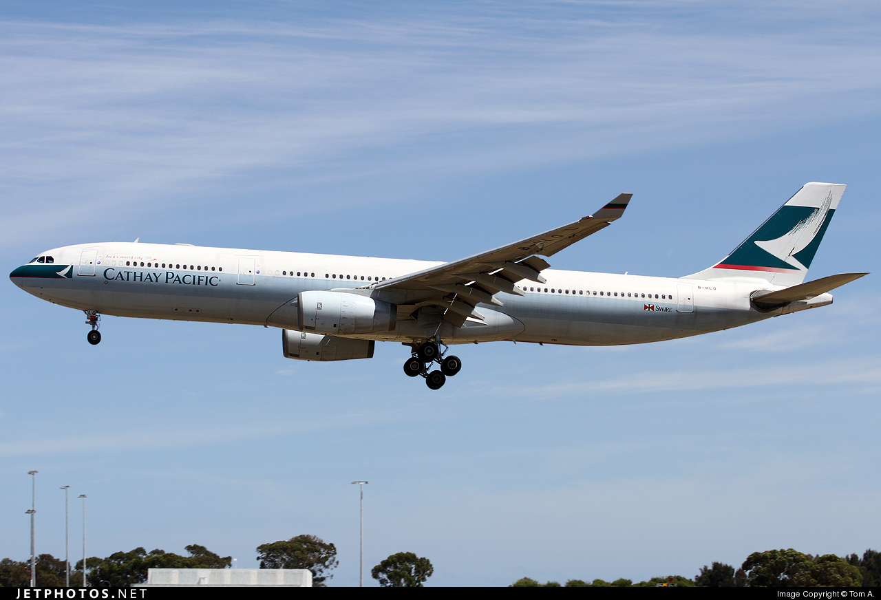 Photo of B-HLQ Airbus A330-343 by Tom A.
