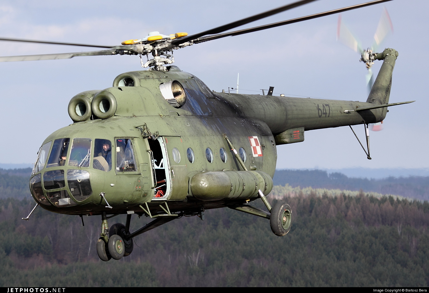 Photo of 647 Mil Mi-8T Hip by Bartosz Bera
